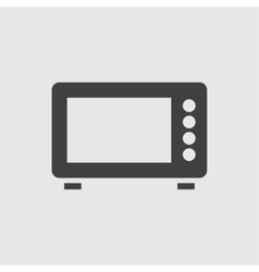 Microwave icon vector image