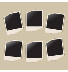 photo album page vector image vector image