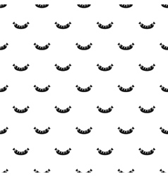 Sausage pattern simple style vector image vector image