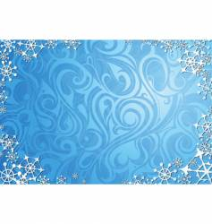 window frost vector image vector image