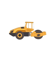 Rammer major construction rink asphalt vector