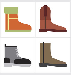 Boot shoes vector