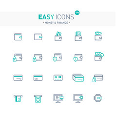 Easy icons 09e money vector