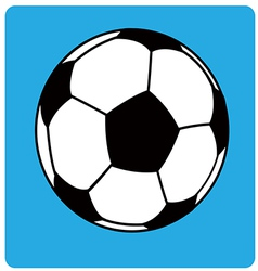 Football ball soccer1 vector