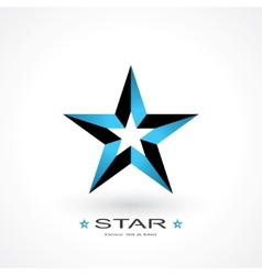 Symbol of star vector