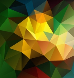 Dark colored abstract polygon triangular pattern vector