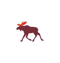 Elk icon vector