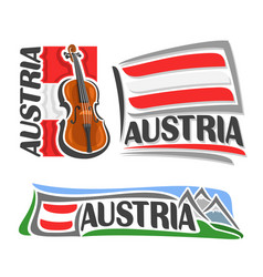 Logo for austria vector