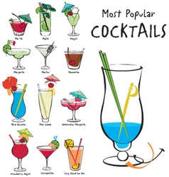 Popularcocktails1 vector