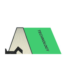 Stem book vector