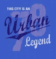 urban legend vector image vector image
