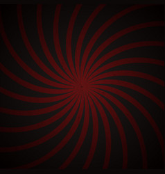 Red and black spiral vintage vector