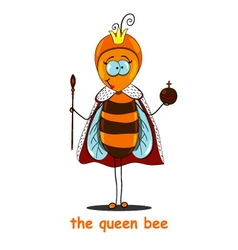 Queen bee vector