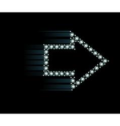 Diamond arrow vector