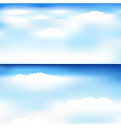 skyscapes vector image vector image