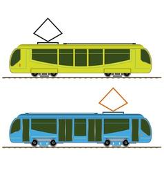 Tramway vector image vector image