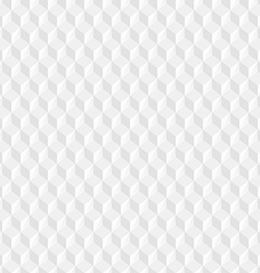 White Cubes Texture vector image vector image
