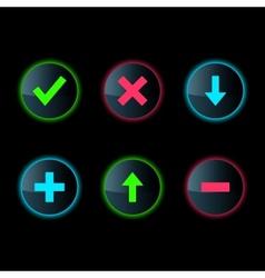 Web button Set vector image