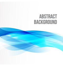 Abstract background light blue curve and wave vector