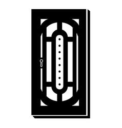 Doorway icon simple style vector
