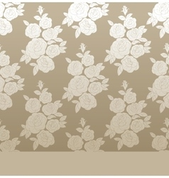 Rose elegant vintage seamless pattern vector