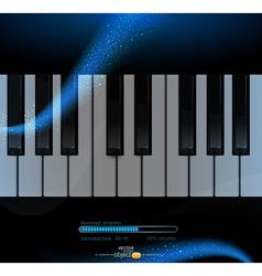 piano2 vs vector image vector image