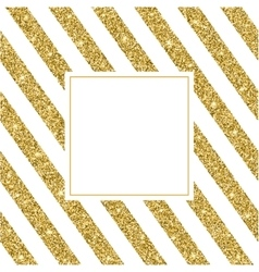 Gold glitter and bright sand white background vector