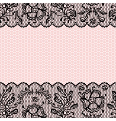 Vintage lace Frame vector image