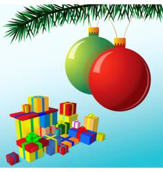 holiday illustration vector image vector image
