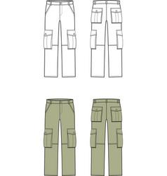 Pants vector