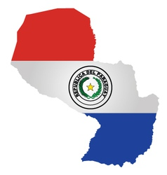 Paraguay Flag vector image vector image