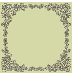 Frame decor vector