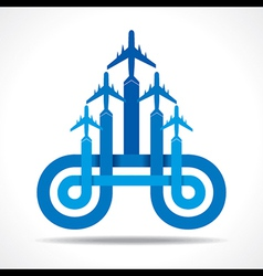 Tour and tourism icon vector