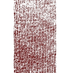 Knitted woolen texture dark red vector
