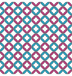 Colorful ornamental pattern - seamless vector
