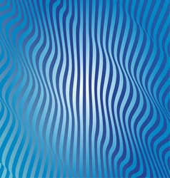 Abstract Blue Wave vector image vector image