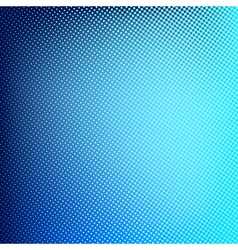 Blue abstract halftone background Creative vector image vector image