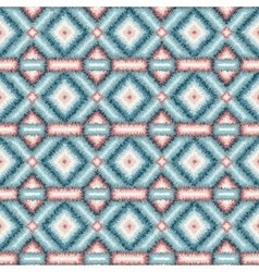 ethnic rhombus tribal seamless pattern vector image vector image