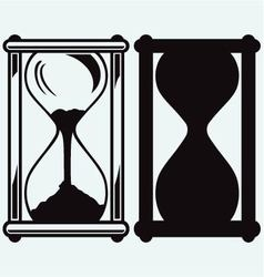 Hourglass vector image