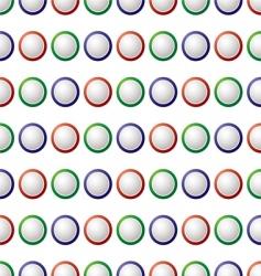 seventies retro wallpaper vector image vector image