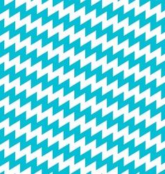Turquoise and white diagonal chevron seamless vector