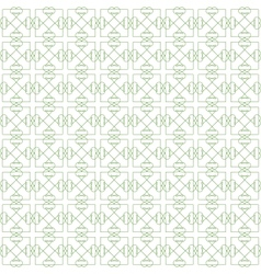 Green Seamless Guilloche Background vector image