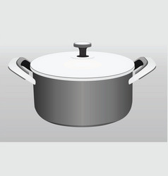 Kitchen pot vector