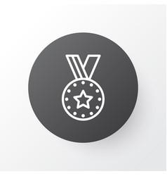 Reward icon symbol premium quality isolated medal vector