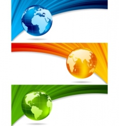 Technology banners vector