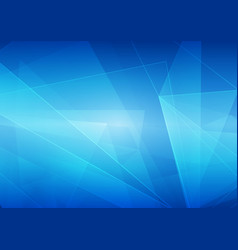 abstract on blue color background vector image vector image