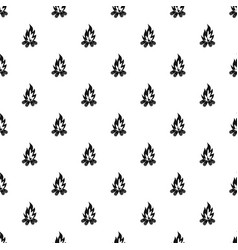 Bonfire pattern vector