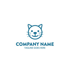 Cat logo-7 vector