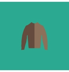 Clothing sweater Pictogram vector image vector image
