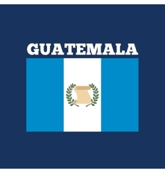 guatemala country flag vector image